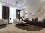 Дизайн гостиной - интерьер центра квартиры